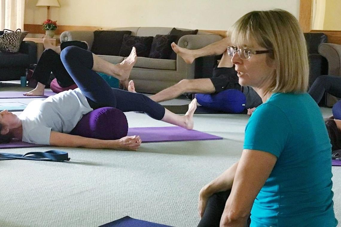 sandy walker yoga